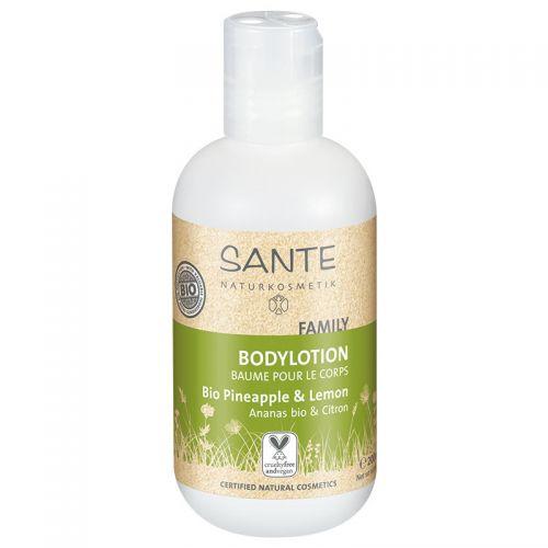 Sante - Sante Aile Vücut Losyonu Organik Ananas & Limon Özlü 200ml