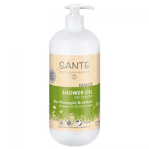 Sante - Sante Duş Jeli Aile Organik Ananas ve Limon Özlü 500ml