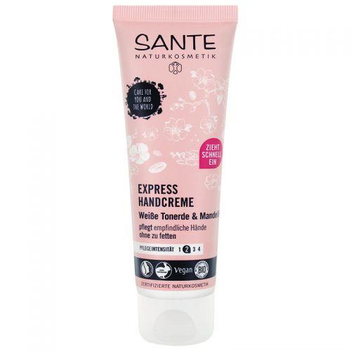 Sante - Sante Express El Kremi Organik Badem Yağı & Beyaz Kil 75ml