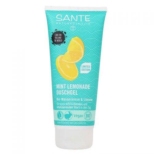 Sante - Sante Günaydın Duş Jeli - Organik Nane ve Limon Özü 200 ml