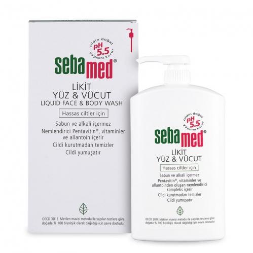 Sebamed - Sebamed Likit Yüz ve Vücut Temizleyici 500 ml