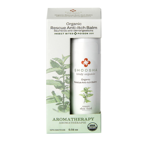 Shoosha - Shoosha Organic Rescue Anti-Itch Balm 17 gr