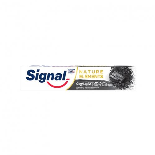 Signal - Signal Natural Elements Charcoal White & Detox 75 ml