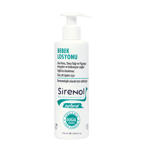 Sirenol - Sirenol Natural Cadı Fındığı Bebek Losyonu 250 ml