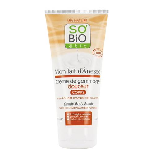 So Bio Etic - So Bio Etic Organik Sertifikalı Eşek Sütlü Kremsi Vücut Peelingi 150 ml