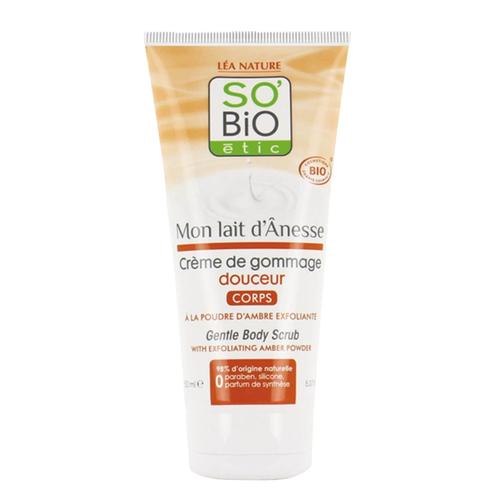 So Bio Etic Organik Sertifikalı Eşek Sütlü Kremsi Vücut Peelingi 150 ml