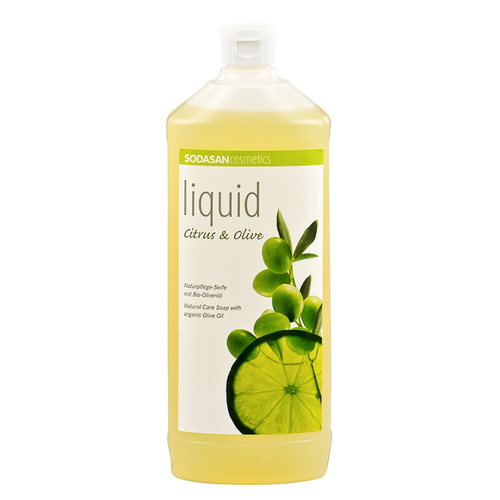 Sodasan - Sodasan Organik Sıvı Sabun Limonlu (Citrus&Olive) 1000 ml