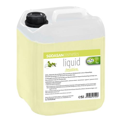 Sodasan - Sodasan Organik Sıvı Sabun Zeytinyağlı Kokusuz Hassas 5 lt