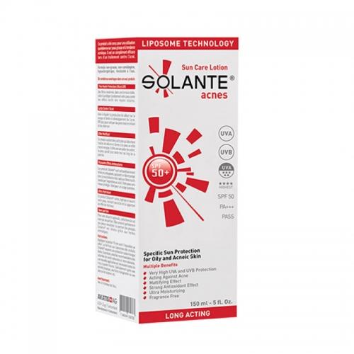 Solante - Solante Acnes Sun Care Lotion SPF 50+ 150 ml