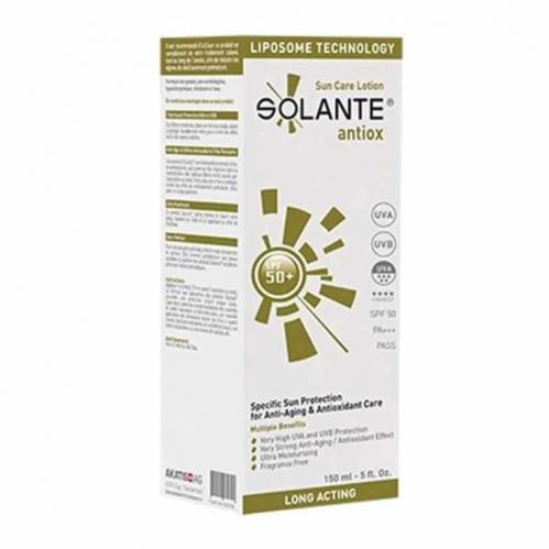 Solante - Solante Antiox Sun Care Lotion SPF 50+ 150 ml