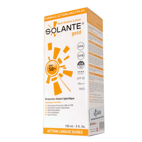 Solante - Solante Gold Spf50+ Güneş Koruyucu Losyon 150ml