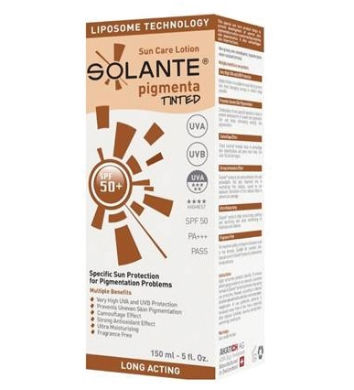 Solante - Solante Pigmenta Tinted Lotion SPF 50+ 150 ml