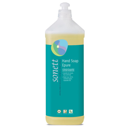 Sonett - Sonett Sıvı El Sabunu Epure - 7 Organik Bitki 1L