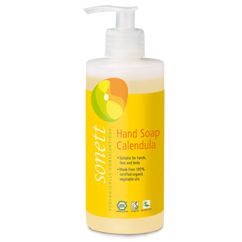 Sonett - Sonett Sıvı El Sabunu Organik Calendula 300 ml