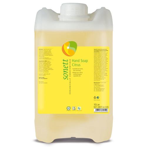 Sonett - Sonett Sıvı El Sabunu Organik Citrus 10L