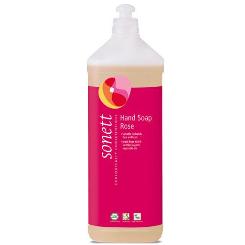 Sonett - Sonett Sıvı El Sabunu Organik Gül 1L