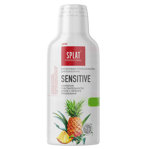 Splat - Splat Professionel Sensitive Ağız Çalkalama Suyu 275 ml