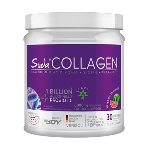 Suda Collagen - Suda Collagen + Probiyotik Karpuz Aromalı Takviye Edici Gıda 300 g