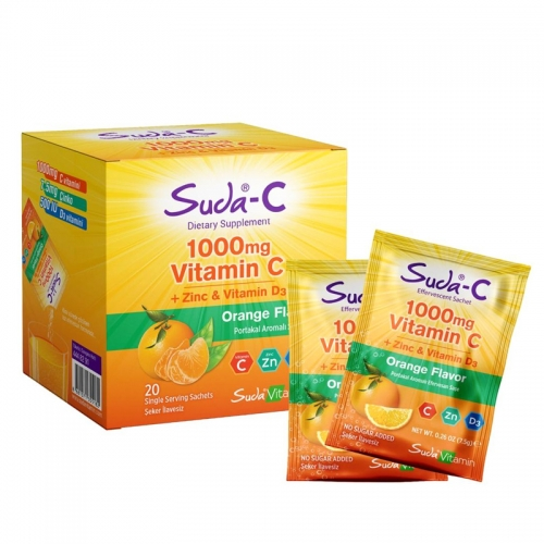 Suda C - Suda Vitamin Suda C Orange 20 Saşe