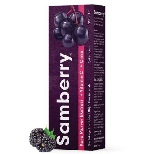 Sunlife - Sunlife Samberry Şurup 150ml