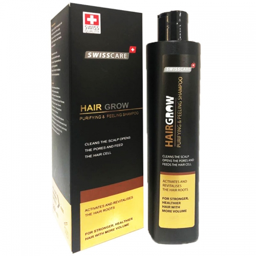 Swisscare - Swisscare HairGrow Purifying & Peeling Şampuan 250 ml