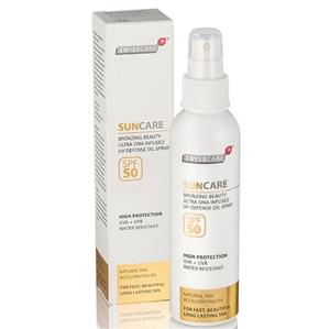 Swisscare - Swisscare SunCare Bronzing Beauty Defense Oil Sprey SPF50 150ml