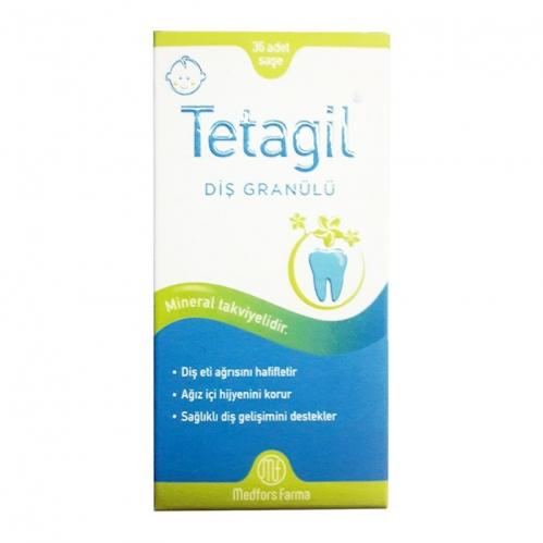 Tetagil - Tetagil Tatlandırıcılı Diş Granülü 36 Saşe