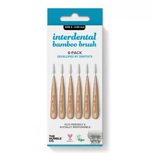 Humble Brush - The Humble Co İnterdental Bamboo Brush Size 3 -0.60 mm