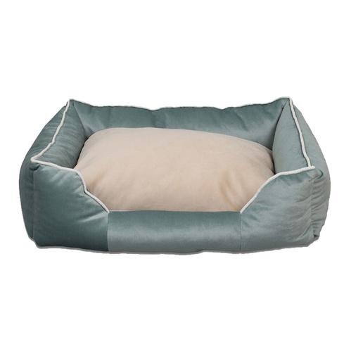 Tulyano - Tulyano Novum Kedi ve Köpek Yatağı 70x90x26 cm - Yeşil