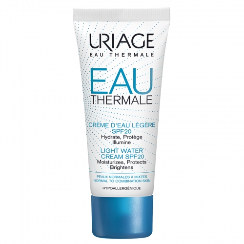 Uriage - Uriage Eau Thermale Light Water Cream Spf20 40ml