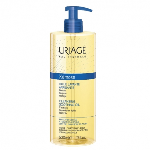 Uriage - Uriage Xemose Cleansing Soothing Oil 500 ml