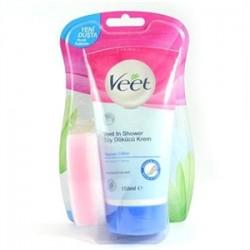 Veet - Veet Yeni Duşta Tüy Dökücü Krem 150ml