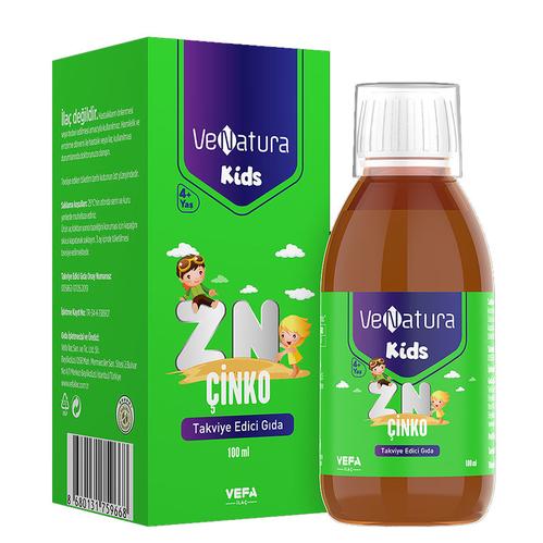 VeNatura - VeNatura Kids Çinko Takviye Edici Gıda 100 ml