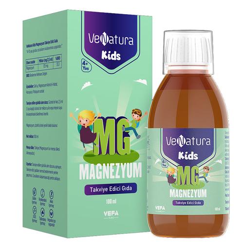 VeNatura - VeNatura Kids Magnezyum Takviye Edici Gıda 100 ml