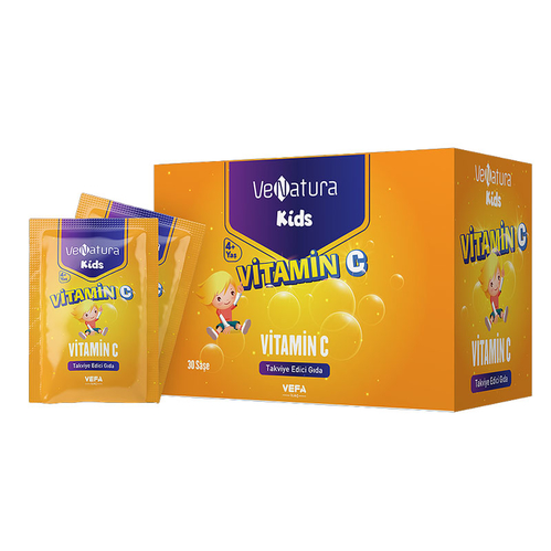 VeNatura - VeNatura Kids Vitamin C Takviye Edici Gıda 30 Saşe