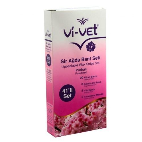 Vi-vet - Vi-vet Sir Ağda Bandı Seti Pudralı