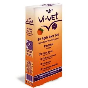 Vi-vet - Vi-vet Sir Ağda Bant Seti Portakal