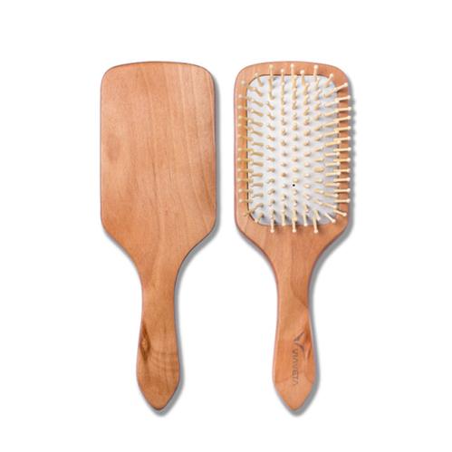 Via Veta - Via Veta Dişli Beyaz Saç Fırçası | Büyük Boy
