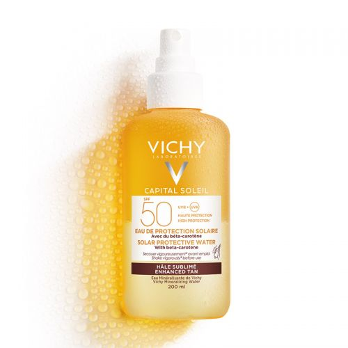 Vichy - Vichy Capital Soleil SPF 50 Bronzlaştırıcı Güneş Koruyucu Sprey 200 ml