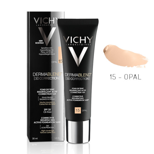 Vichy - Vichy Dermablend 3D Correction SPF25 Oil-Free Foundation 30ml