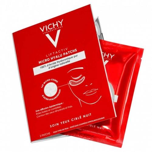 Vichy - Vichy Liftactiv Micro Hyalu Patchs Göz Altı Bandı 2 Adet
