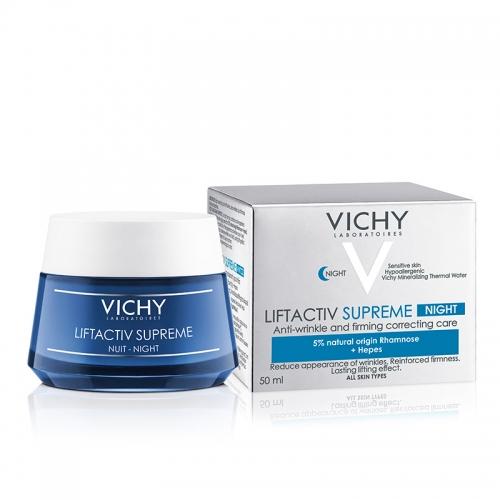 Vichy - Vichy Liftactiv Supreme Night Kırışıklık Karşıtı Gece Bakım Kremi 50 ml
