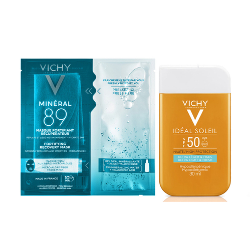 Vichy - Vichy Mineral 89 Güneş Bakım Seti