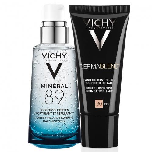 Vichy - Vichy Nemlen ve Güzelleş Seti 30 Beige