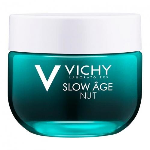 Vichy - Vichy Slow Age Night Yaşlanma Karşıtı Gece Bakım Kremi ve Maske 50 ml