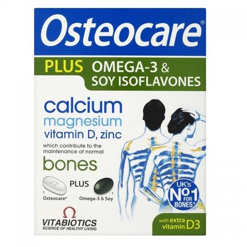 Vitabiotics - Vitabiotics Osteocare Plus Omega 3 Takviye Edici Gıda 84 Tablet