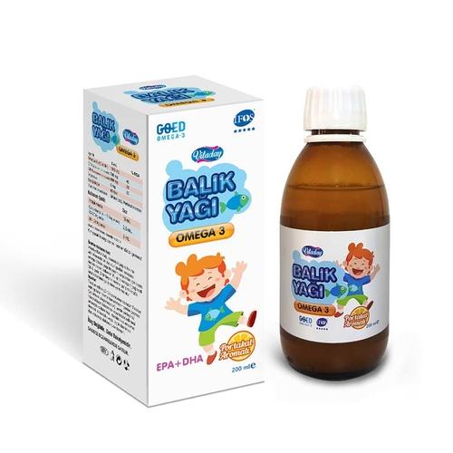 VitaDay - Vitaday Omega 3 Balık Yağı 200ml
