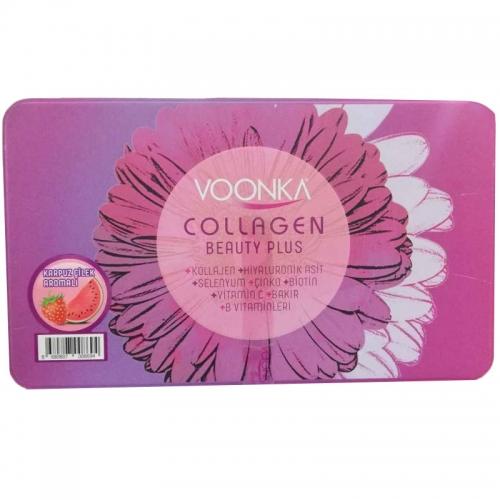 Voonka - Voonka Collagen Beauty Plus 30 Saşe Çilek & Karpuz Aromalı