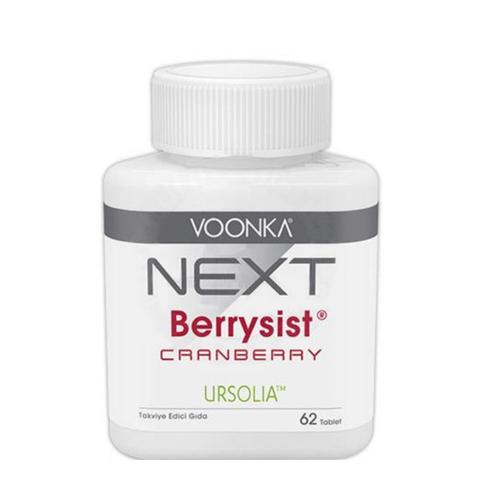 Voonka - Voonka Next Berrysist Cranberry Takviye Edici Gıda 62 Tablet