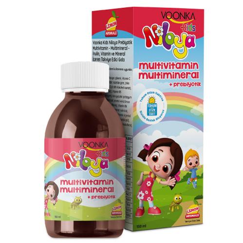 Voonka - Voonka Niloya Prebiyotik Multivitamin Şurubu 150 ml